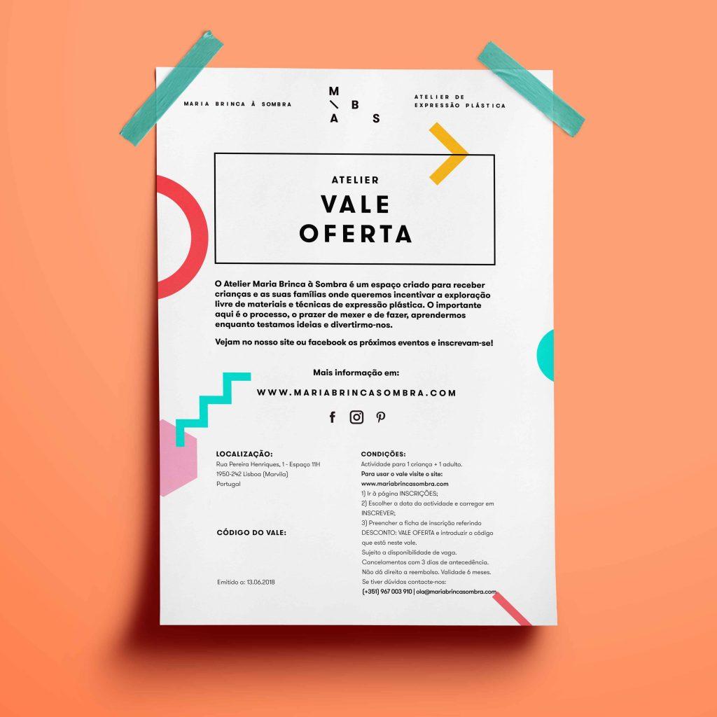 Vale Oferta Atelier Playgroup
